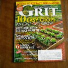 Grit Magazine 10 Easy Crops Anyone Can Grow March / April 2012 Volume 130 Issue 2 (G1)