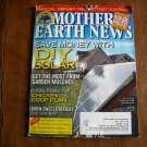 Mother Earth News Save Money with DIY Solar June / July 2011 Issue 246 (G2)