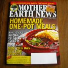 Mother Earth News Homemade One Pot Meals December 2014 / January 2015 Issue 267 (G2)