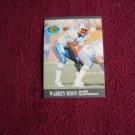 Warren Moon '91 Ultra Performances Oilers Quaterback 5 of 10 (FB5/10) Fleer 1991 Football Card