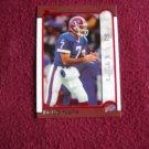 Doug Flutie Buffalo Bills DB Card No. 20 - Bowman Topps 1999 Football Card