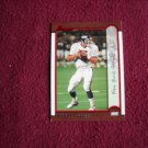 Kerry Collins New York Giants DB Card No. 99 - Bowman Topps 1999 Football Card