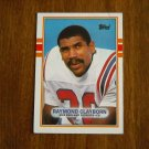 Raymond Clayborn New England Patriots CB Card No. 203 - Topps 1989 Football Card