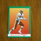 Ricky Sanders Redskins WR Card No. 394 - 1991 Fleer Football Card