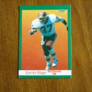 Gerald Riggs Redskins RB Card No. 392 - 1991 Fleer Football Card