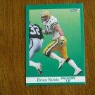 Brian Noble Packers LB Card No. 259 - 1991 Fleer Football Card
