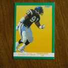 Leslie O'Neal Chargers LB Card No. 177 - 1991 Fleer Football Card