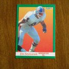 Jim Szymanski Broncos DL Card No. 55 - 1991 Fleer Football Card