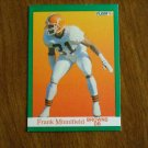 Frank Minnifield Browns DB Card No. 40 - 1991 Fleer Football Card
