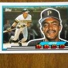 Jose Lind - Jose Lind Salgado Second Base Card No. 25 - 1989 Topps Baseball Card