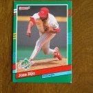 Jose Rijo Pitcher Cincinnati Reds 1990 World Series Card No. 742 - 1991 Donruss Baseball Card