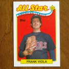 Frank Viola All Star American League Pitcher Card No. 406 - 1989 Topps Baseball Card