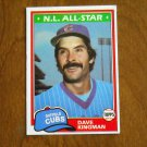 Dave Kingman N. L. All Star Cubs Outfield Card No. 450 - 1981 Topps Baseball Card