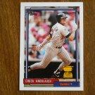Chuck Knoblauch Twins 2B All Star Rookie Card No. 23 - Topps 1992 Baseball Card