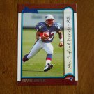 Kevin Faulk New England Patriots RB Card No 167 - Bowman Topps 1999 Football Card
