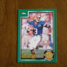 Travis McGriff Denver Broncos Card No 251 - 1999 Score Rookie Football Card