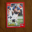 Brian Griese Denver Broncos QB Card No 189 - 1999 Score Football Card