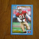 Terrell Owens San Francisco 49ers WR Card No 73 - 1999 Score Football Card