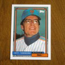 Jeff Torborg Mets Manager Card No 759 - 1992 Topps Baseball Card