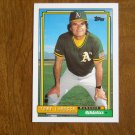 Tony LaRussa Athletics Manager Card No 429 - 1992 Topps Baseball Card
