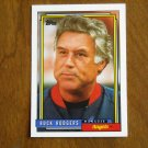 Buck Rodgers Angels Manager Card No 21 - 1992 Topps Baseball Card