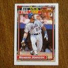 Howard Johnson All Star National League Third Baseman Card No. 388 - 1992 Topps Baseball Card