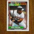 Cecil Fielder All Star American League First Baseman Card No 397 - 1992 Topps Baseball Card
