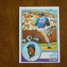 Lee Smith Cubs Pitcher Card No 699 - 1983 Topps Baseball Card