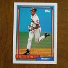 David Justice Braves OF Card No 80 - 1992Topps Baseball Card