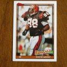David Grant Cincinnati Bengals DE Card No 263 - 1991 Topps Football Card