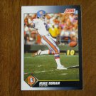 Mike Horan Denver Broncos Punter Card No. 578 - 1991 Score Football Card