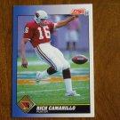 Rich Camarillo St. Louis Cardinals Punter Card No. 16 - 1991 Score Football Card