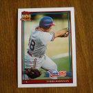 Todd Johnson Team USA C Card No 63T - 1991 Topps Baseball Card