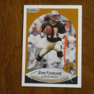 John Fourcade New Orleans Saints Quarterback Card No. 186 - 1990 Fleer Football Card
