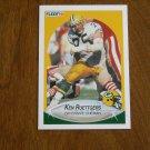 Ken Ruettgers Green Bay Packers Offensive Lineman No. 179 - 1990 Fleer Football Card