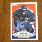 Ron Morris Chicago Bears Wide Receiver Card No. 297 - 1990 Fleer Football Card