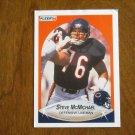 Steve McMichael Chicago Bears Defensive Lineman Card No. 296 - 1990 Fleer Football Card
