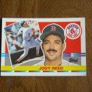 Jody Reed Boston Red Sox SS-2B Card No 167 - 1990 Topps Baseball Card