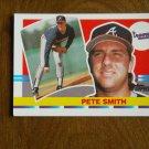 Pete Smith Atlanta Braves Pitcher Card No. 161 - 1990 Topps Baseball Card
