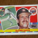 Glenn Davis Houston Astros First Base Card No. 122 - 1990 Topps Baseball Card