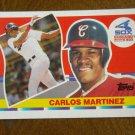 Carlos Martinez Chicago White Sox 3b-1b Card No. 116 - 1990 Topps Baseball Card