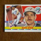 Dave Stieb Toronto Blue Jays Pitcher Card No. 112 - 1990 Topps Baseball Card