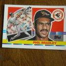 Phil Bradley Baltimore Orioles Outfield Card No. 202 - 1990 Topps Baseball Card