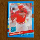 Bernard Gilkey St. Louis Cardinals Outfield Rated Rookie Card No. 30 - 1990 Leaf Baseball Card
