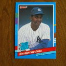 Hensley Meulens N. Y. Yankees Outfield Rated Rookie Card No. 31 - 1990 Leaf Baseball Card