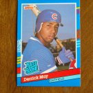 Derrick May Chicago Cubs Outfield Rated Rookie Card No. 36 - 1990 Leaf Baseball Card