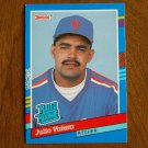Julio Valera New York Mets Pitcher Rated Rookie Card No. 39 - 1990 Leaf Baseball Card