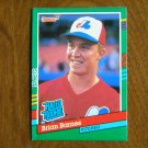 Brian Barnes Montreal Expos Pitcher Rated Rookie Card No. 415 - 1990 Leaf Baseball Card