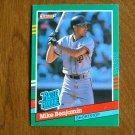 Mike Benjamin San Francisco Giants Shortstop Rated Rookie Card No. 432 - 1990 Leaf Baseball Card