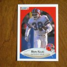 Mark Kelso Buffalo Bills Defensive Back Card No 115 - 1990 Fleer Football Card